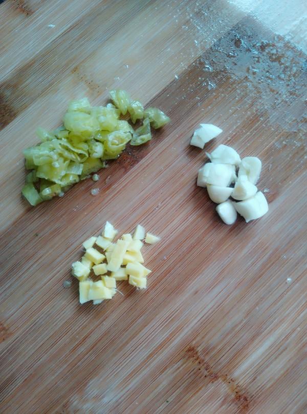 腊鱼腩蒸芋头的做法图解