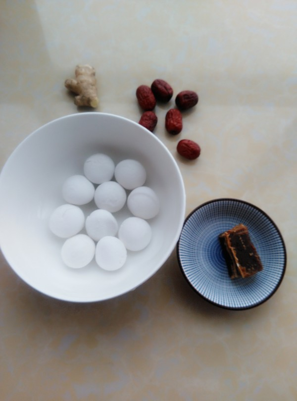 红枣姜汤圆的做法大全