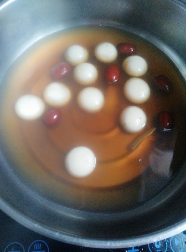 红枣姜汤圆怎么做