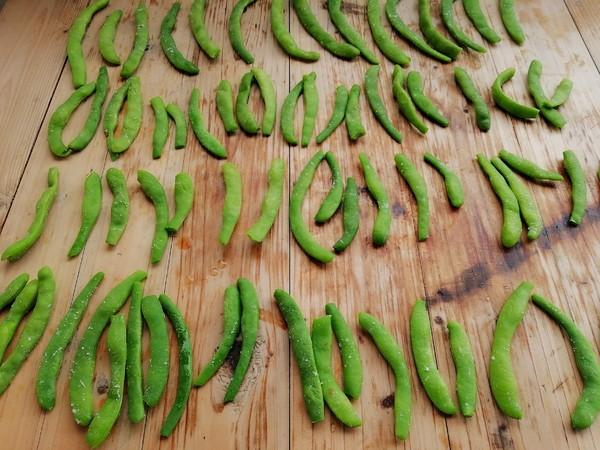腊肉炒酸四季豆的简单做法