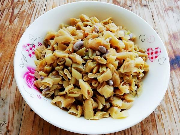 腊肉炒酸四季豆怎么做