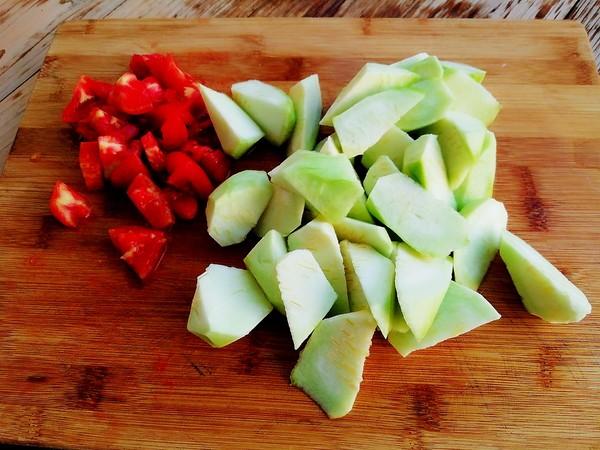 番茄丝瓜蛋汤的做法图解