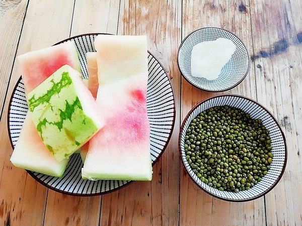 西瓜皮绿豆汤的做法大全