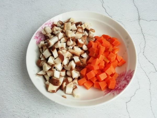 胡萝卜香菇瘦肉粥的简单做法