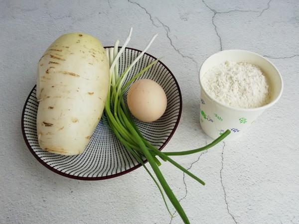 白萝卜蛋饼的做法大全