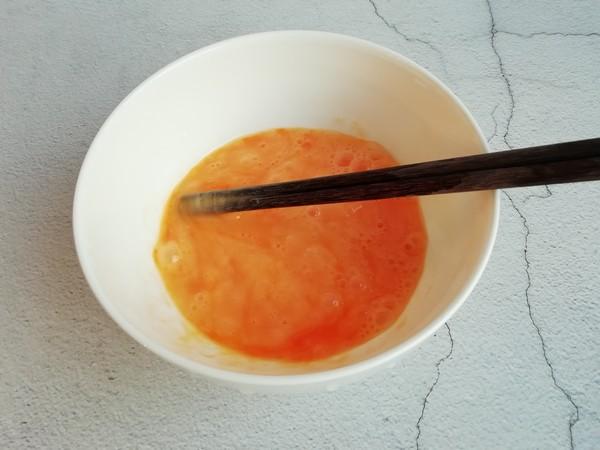 红菜苔炒鸡蛋的做法图解