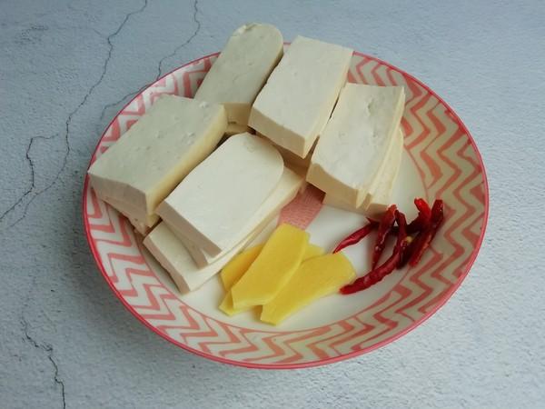 腊鱼焖豆腐的做法图解