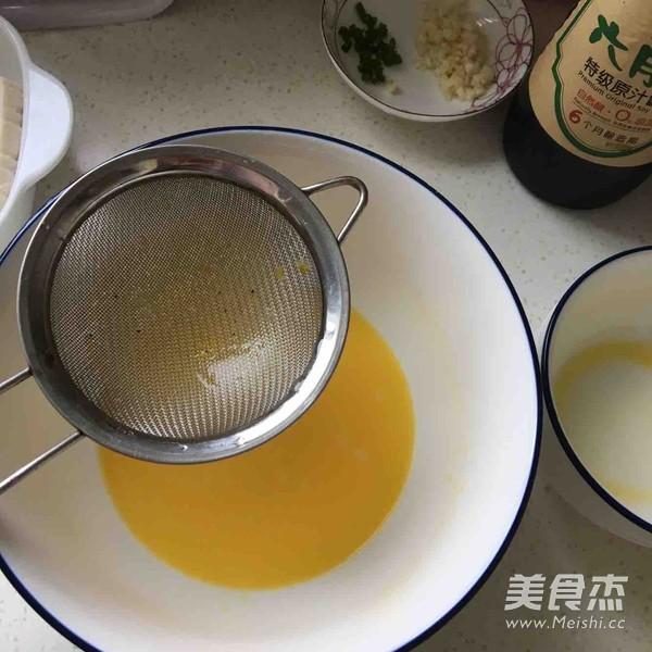 豆腐肉末蒸蛋的简单做法