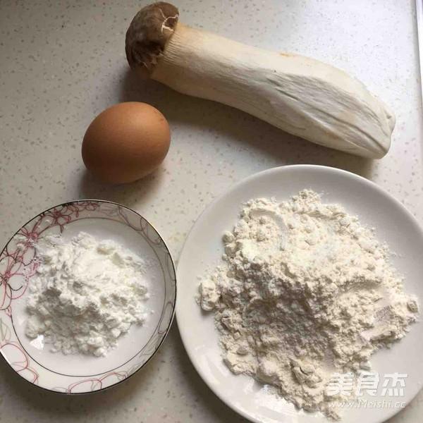 椒盐味干炸杏鲍菇的做法大全