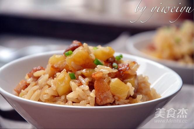 土豆五花肉焖饭怎么炖