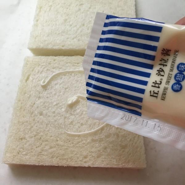 吐司沙拉棒棒糖丘比沙拉汁的步骤