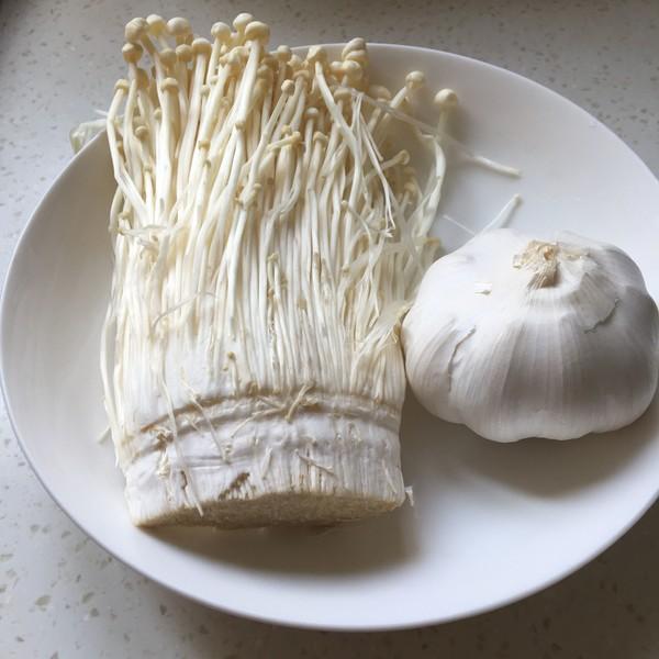 清蒸金针菇的做法大全
