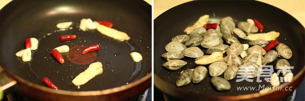 酒蒸蛤蜊的做法图解