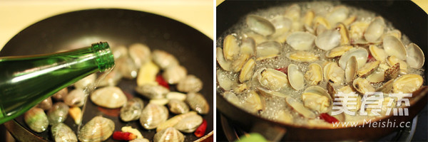 酒蒸蛤蜊的家常做法