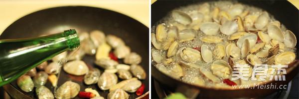 酒蒸蛤蜊的简单做法