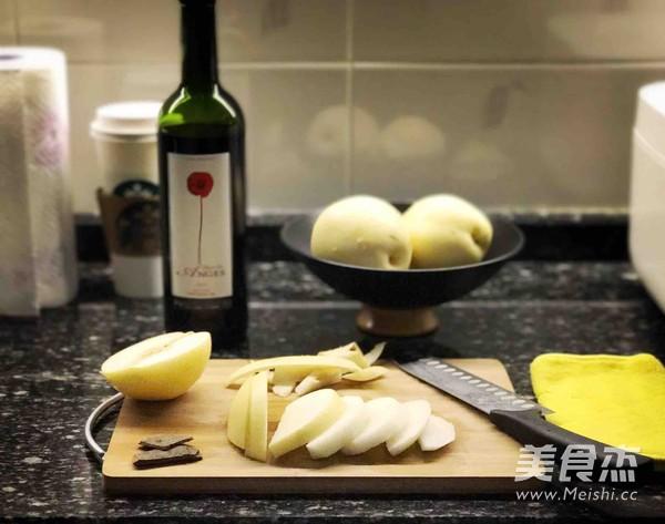 红酒炖梨的做法大全