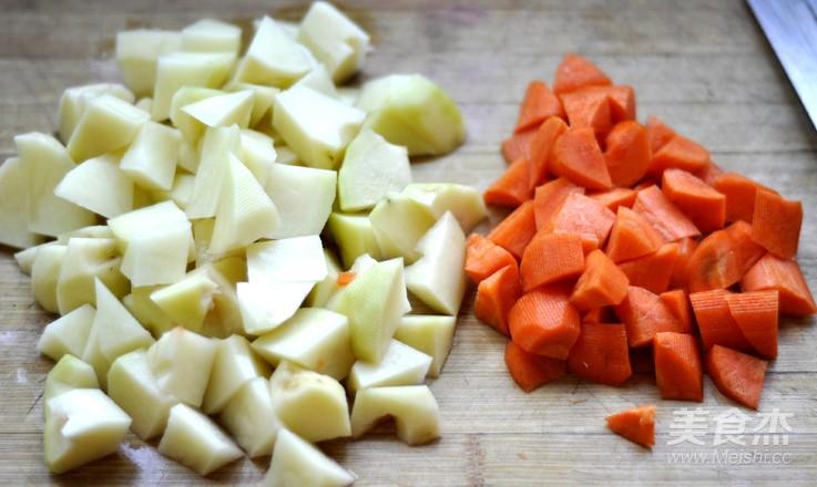 柚子味土豆烧牛肉的做法图解