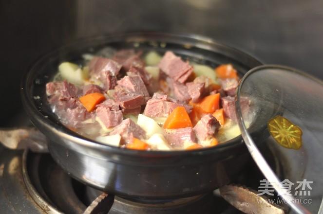 柚子味土豆烧牛肉怎么煮