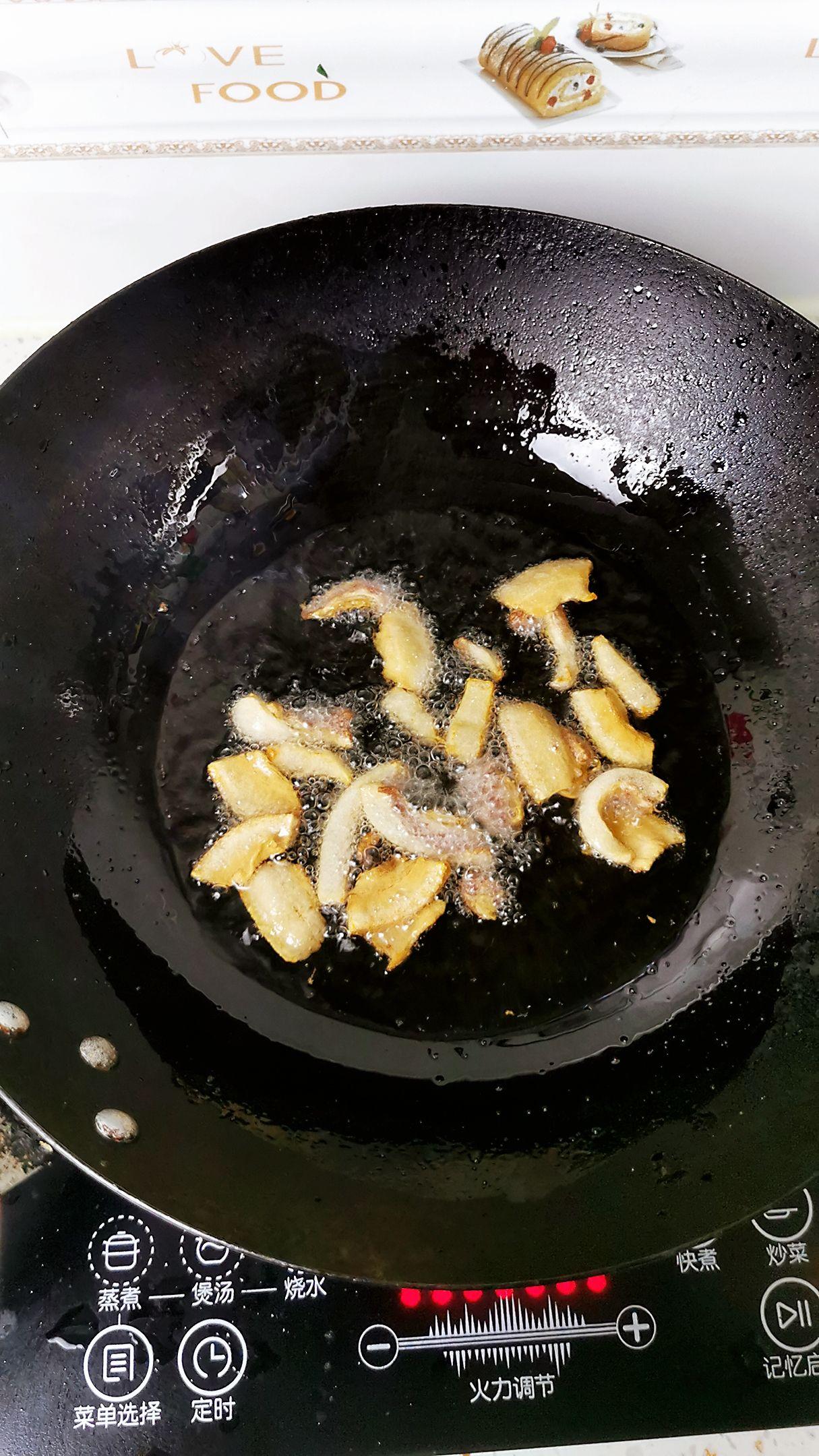 油菜炒粉丝怎么煮