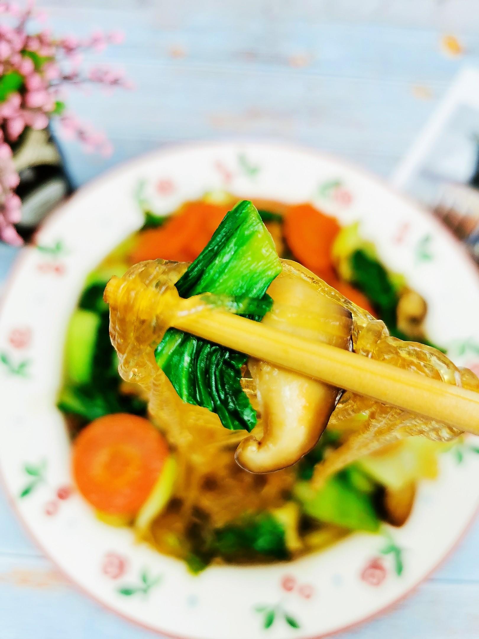 油菜炒粉丝怎样煮