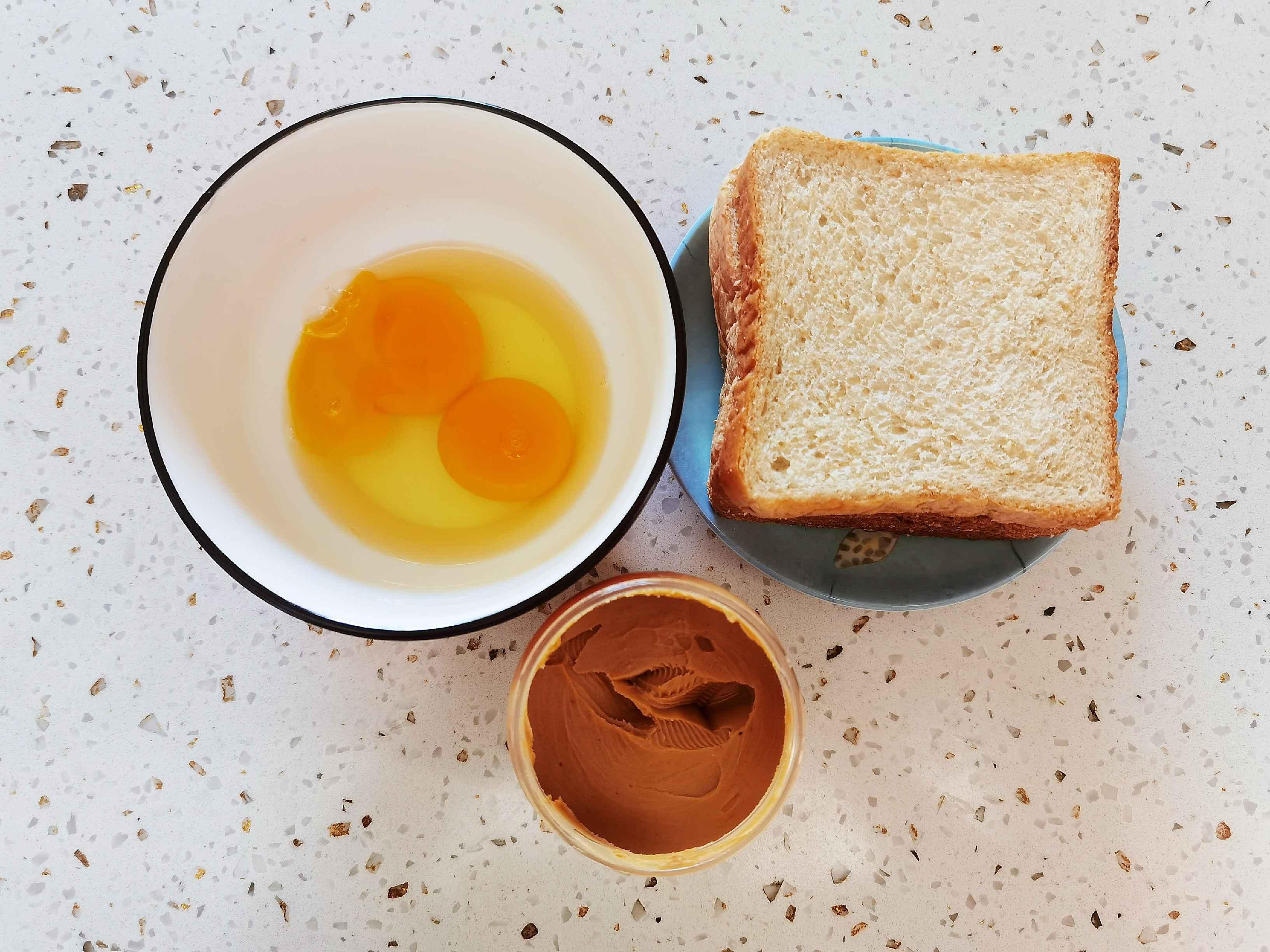 花生酱全麦小方面包,10分钟搞定的低糖营养早餐的做法大全
