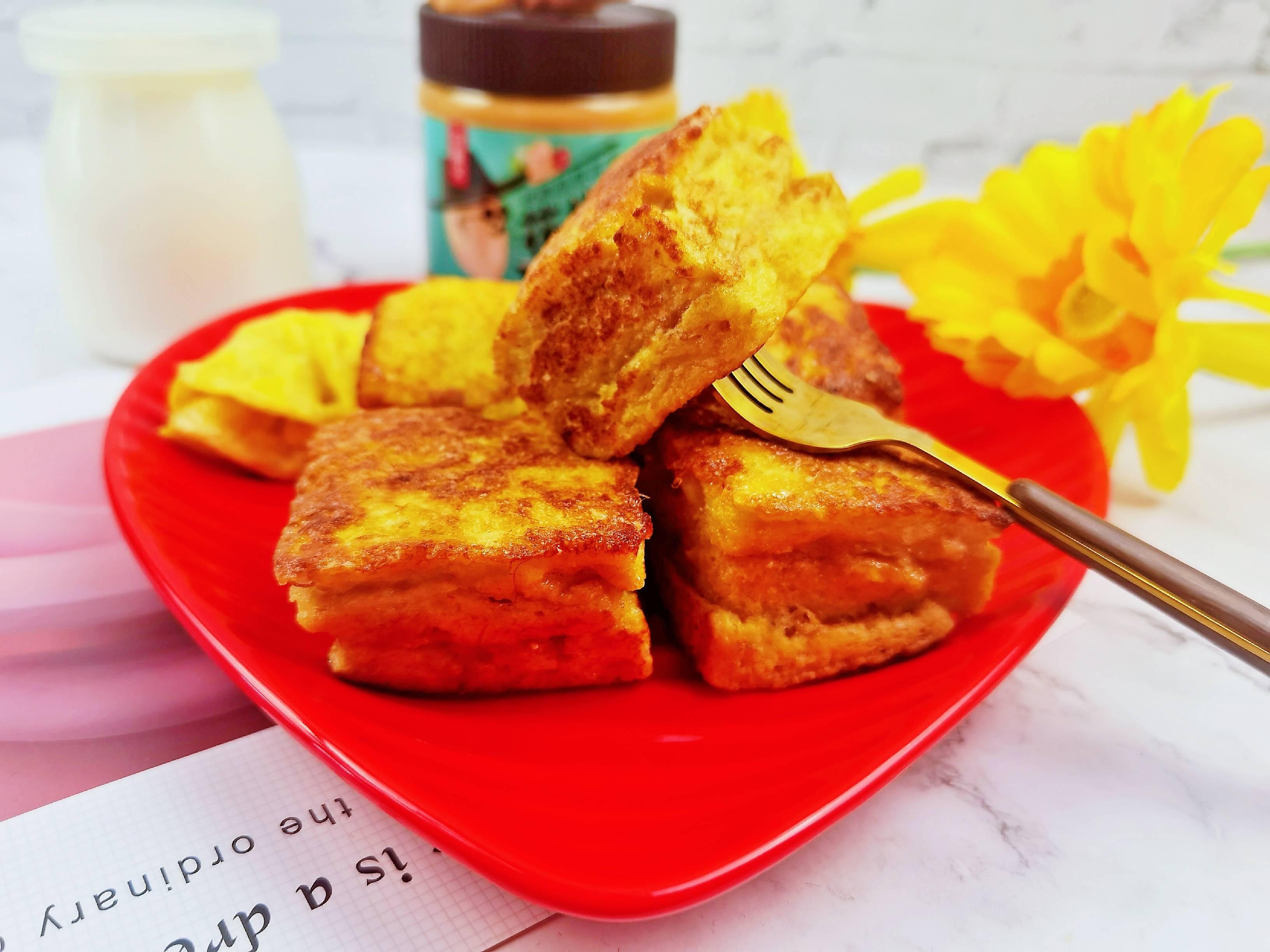 花生酱全麦小方面包,10分钟搞定的低糖营养早餐怎么炖