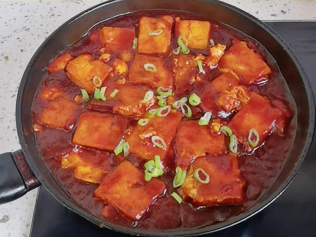 豆腐这样做-懒人版茄汁豆腐,好吃到舔盘,开胃又下饭怎么煮