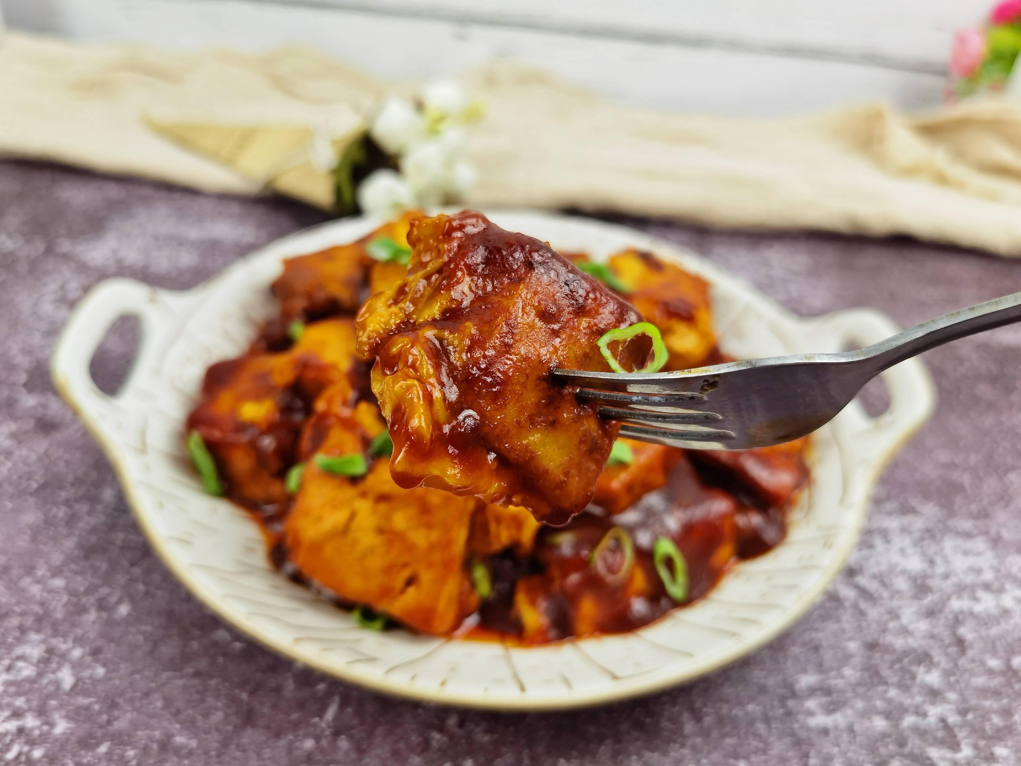 豆腐这样做-懒人版茄汁豆腐,好吃到舔盘,开胃又下饭怎么炖