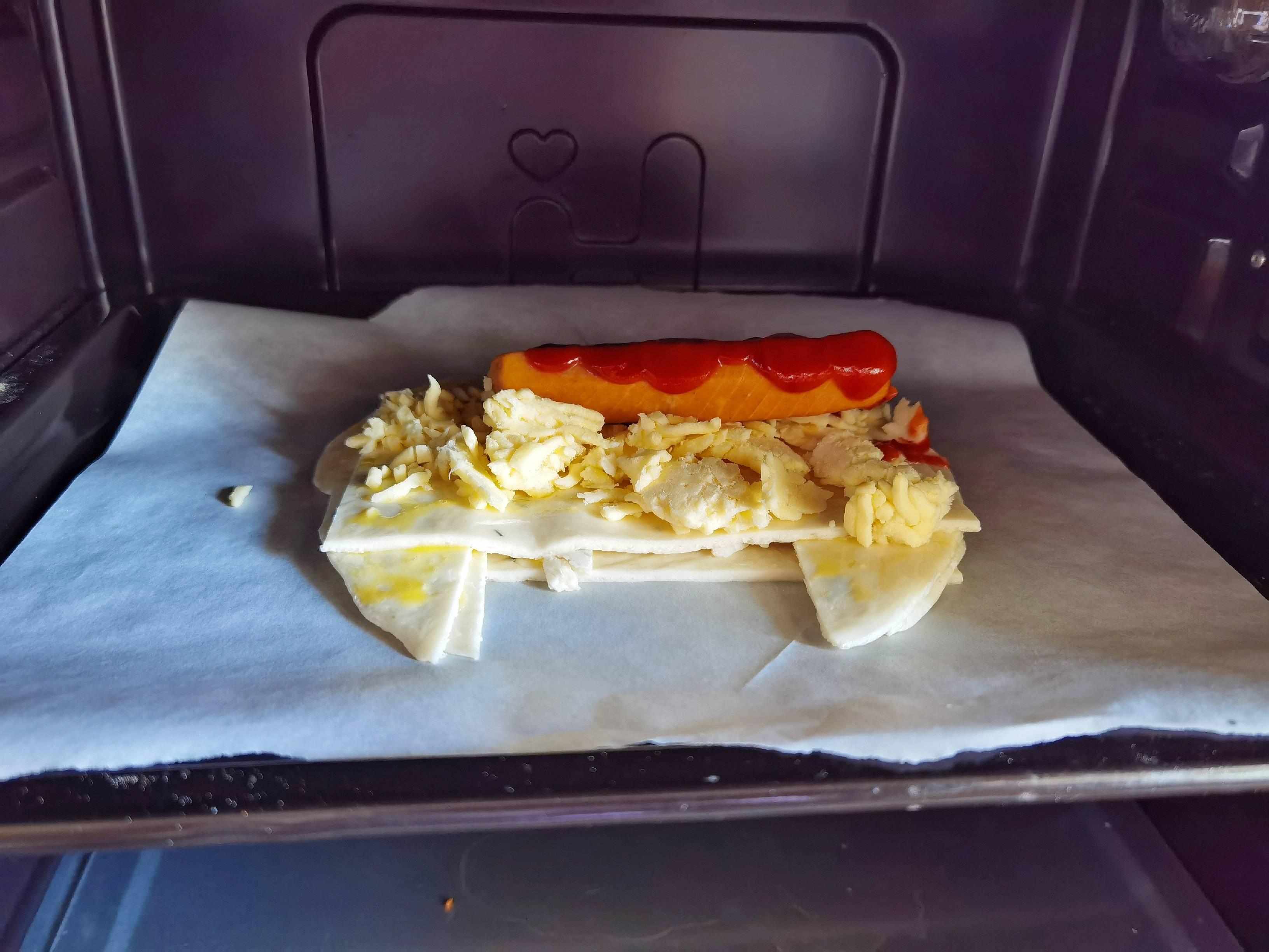 1张饼1根肠,做个简单美味的人气早餐-手抓饼香酥肠怎么做