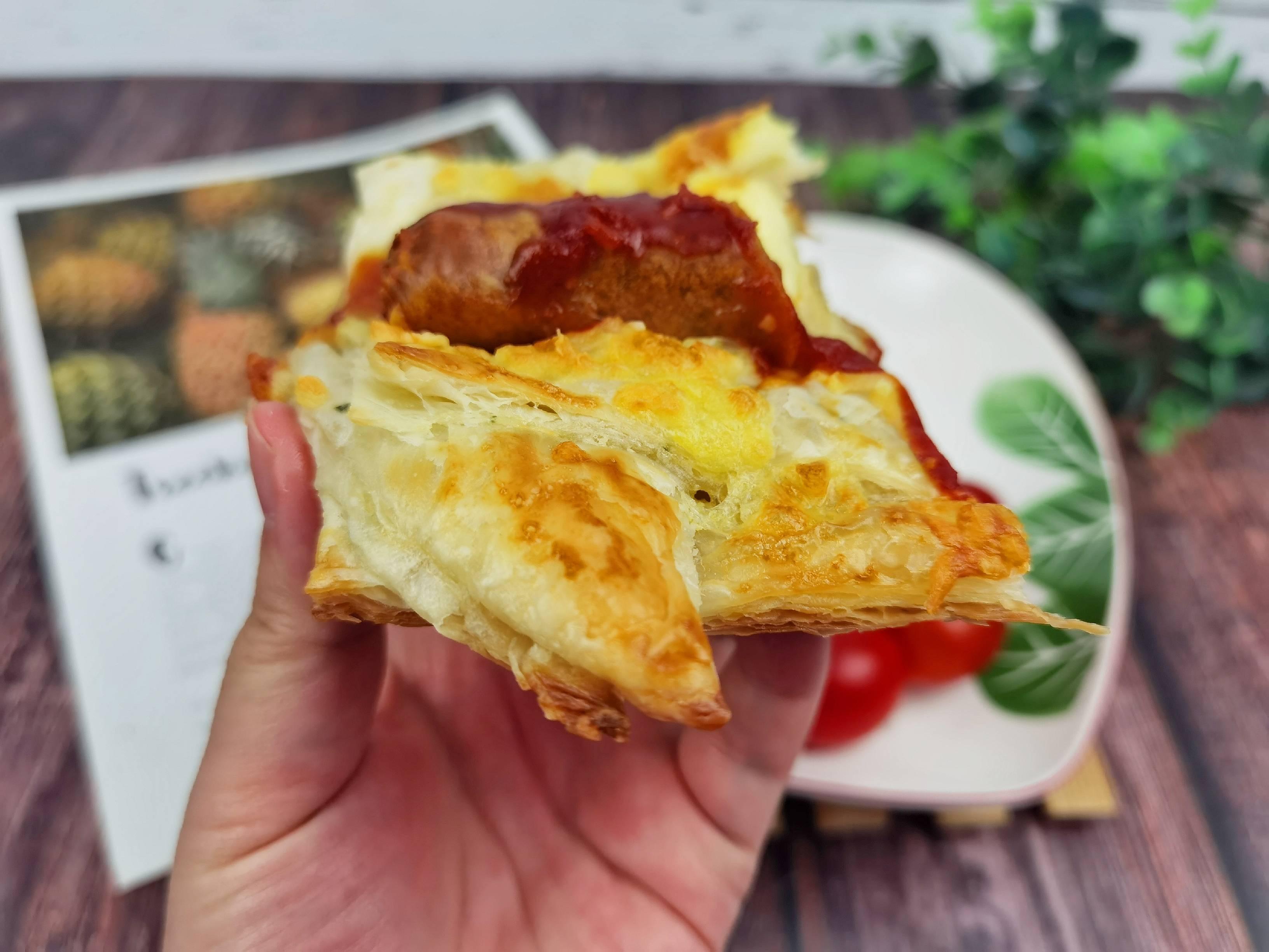 1张饼1根肠,做个简单美味的人气早餐-手抓饼香酥肠怎么煮