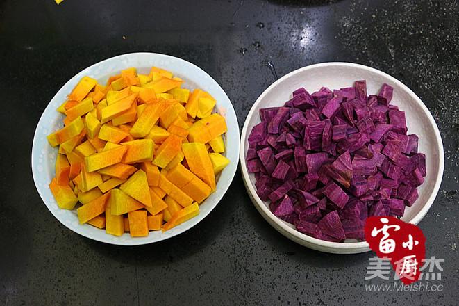南瓜紫薯冻的做法大全
