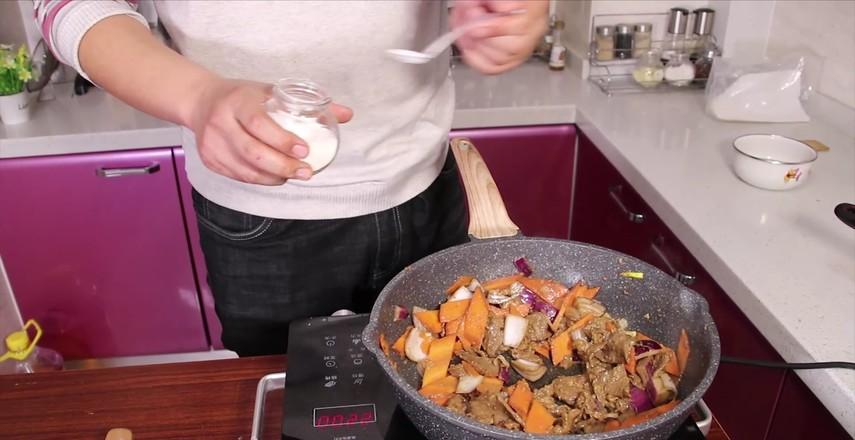 胡萝卜牛肉怎么煮