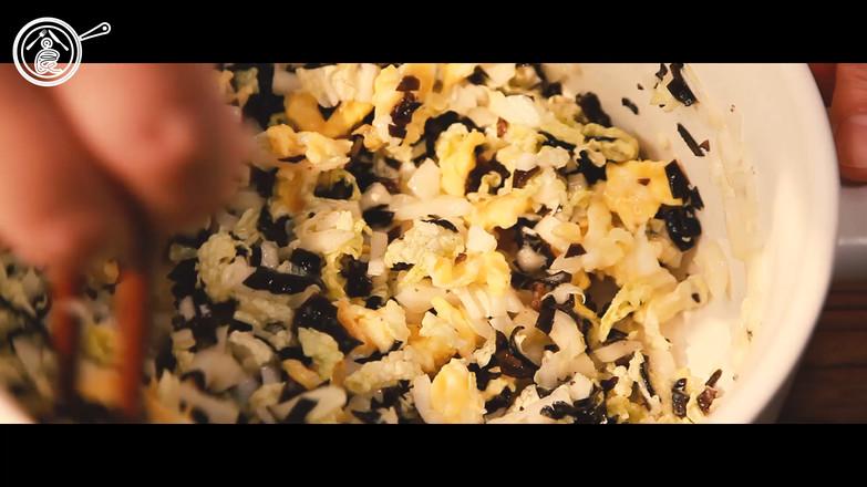 翡翠白玉饺的制作