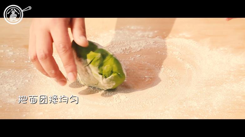 翡翠白玉饺的制作大全