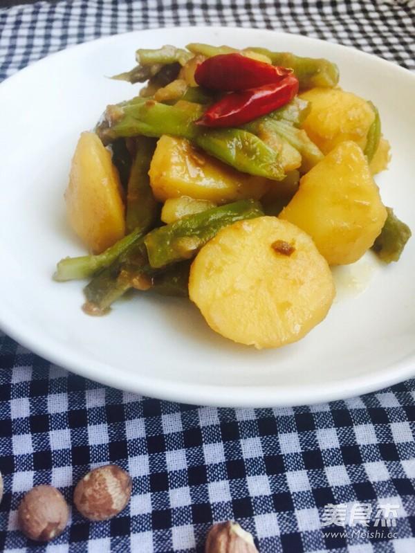 土豆炖豆角怎样做