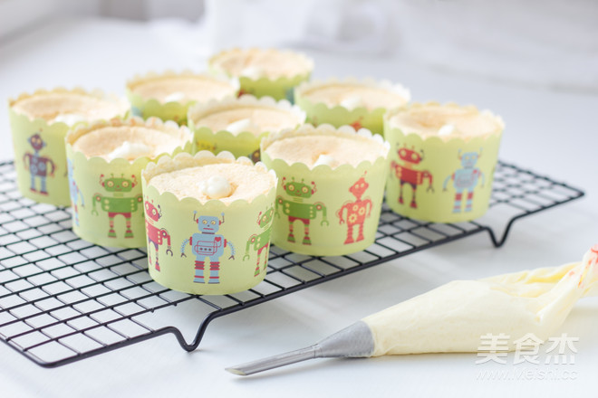 北海道戚风蛋糕的制作方法