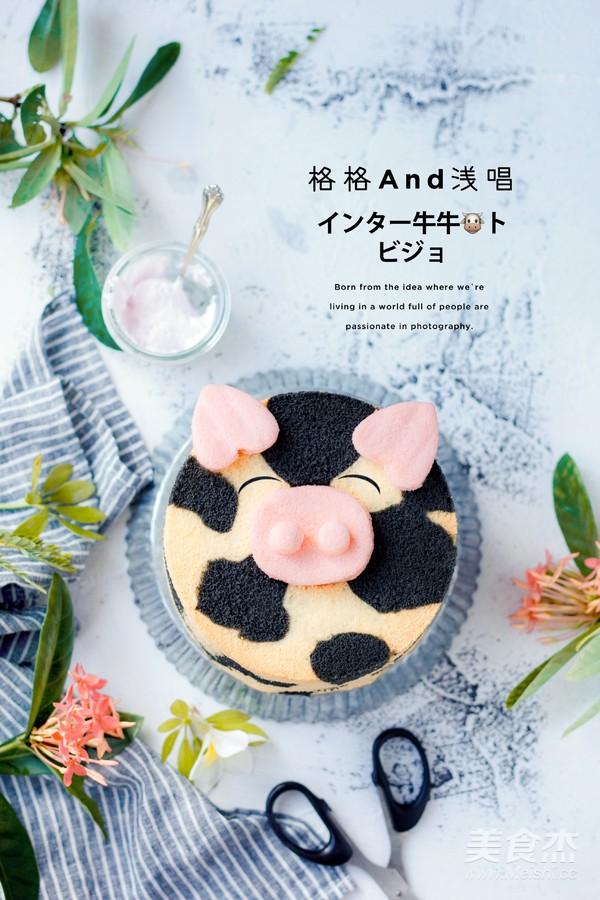 竹炭牛牛蛋糕的做法大全