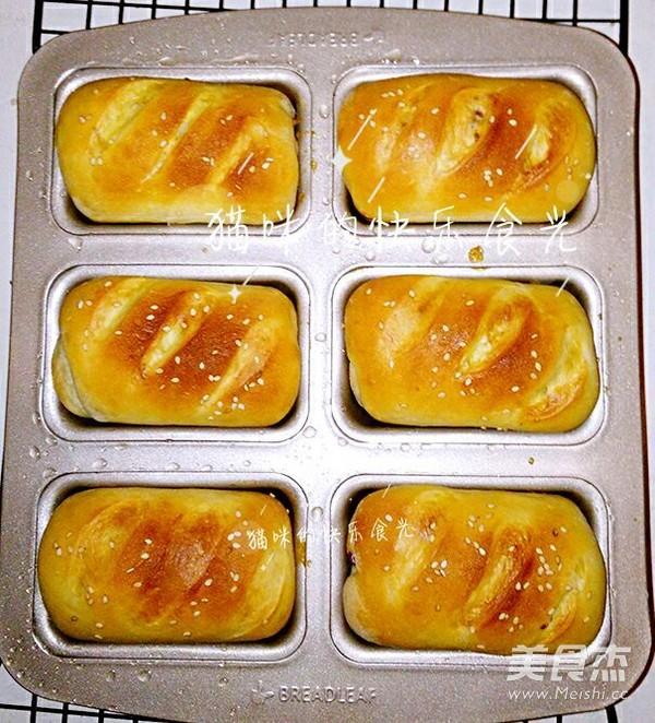 红枣小面包的制作
