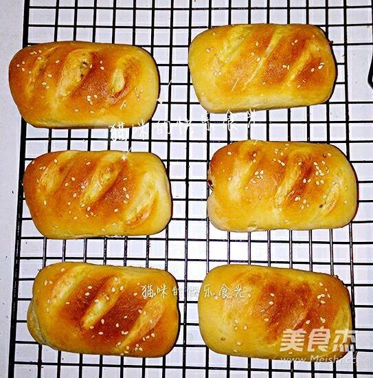 红枣小面包的制作方法