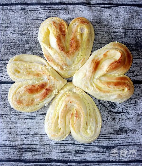 椰蓉桃心面包的制作大全