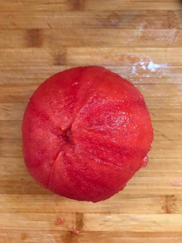 西红柿炒莲花菜的做法图解