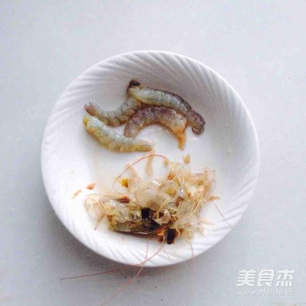 海虾炒饭的做法图解