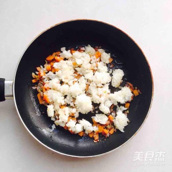 海虾炒饭怎样煸