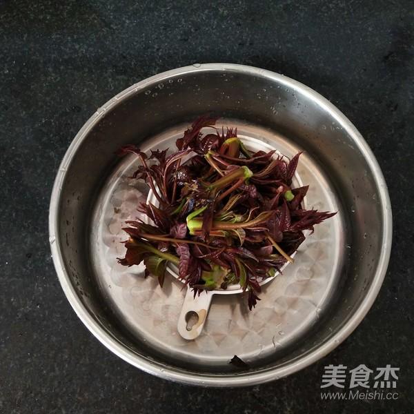 煎香椿嫩芽怎么吃