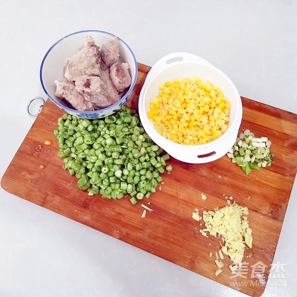 排骨玉米粒焖饭的简单做法