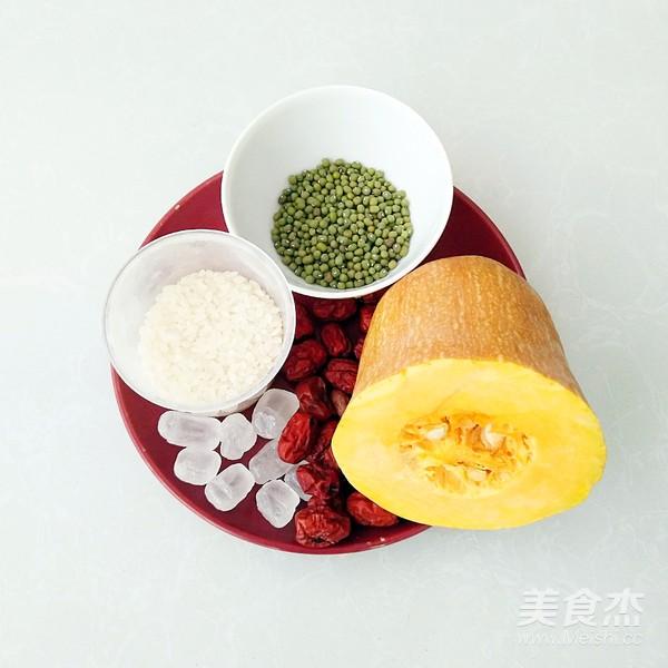 南瓜绿豆红枣粥的做法大全