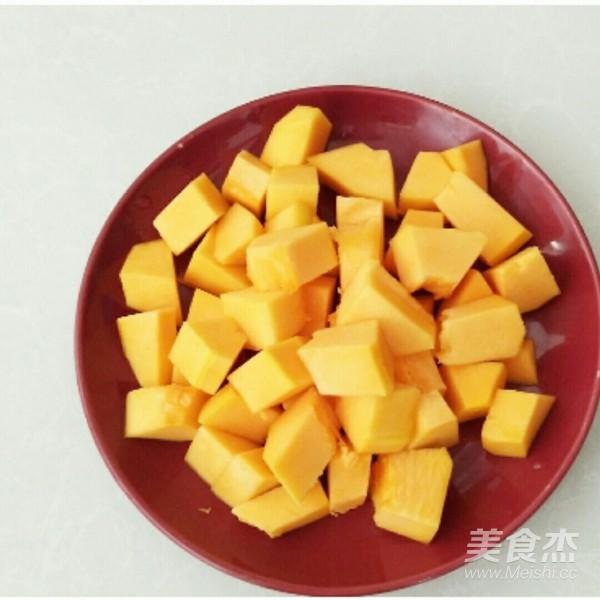 南瓜绿豆红枣粥的做法图解
