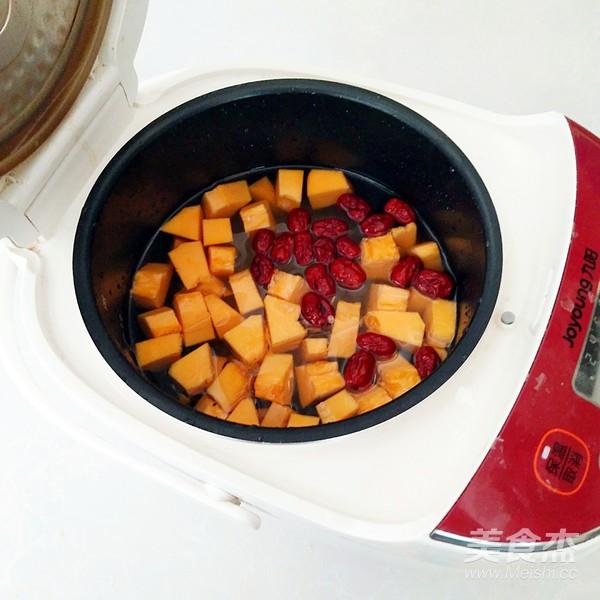 南瓜绿豆红枣粥怎么吃