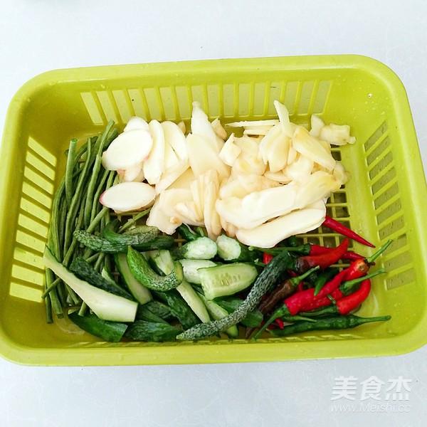 腌渍小咸菜怎么吃