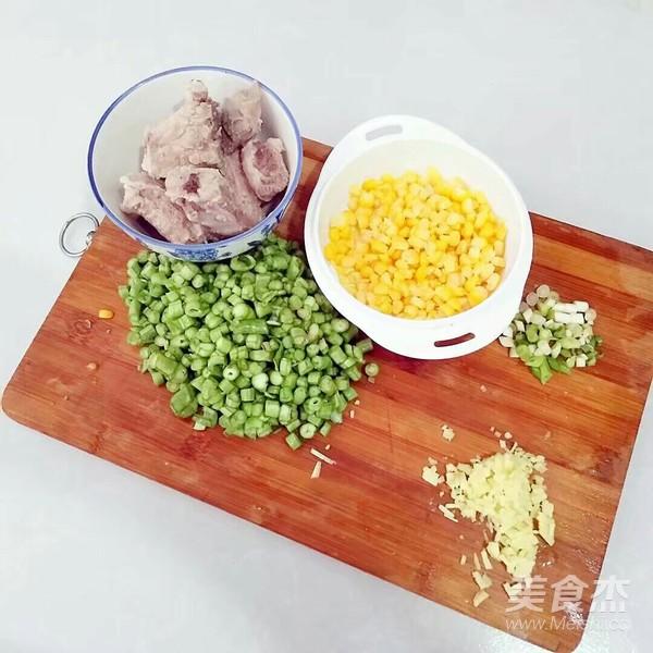 豆角排骨焖饭的做法图解